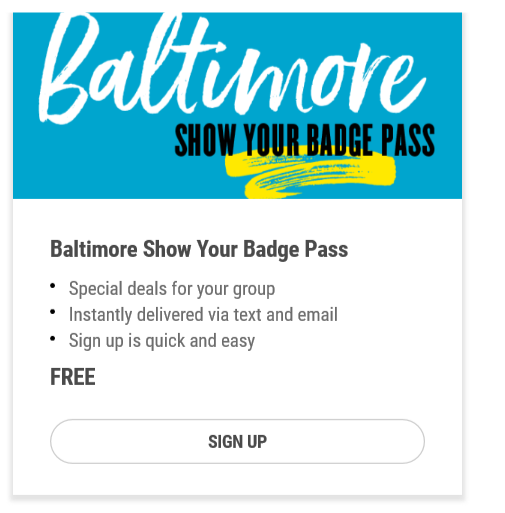 Baltimore - Show Your Badge