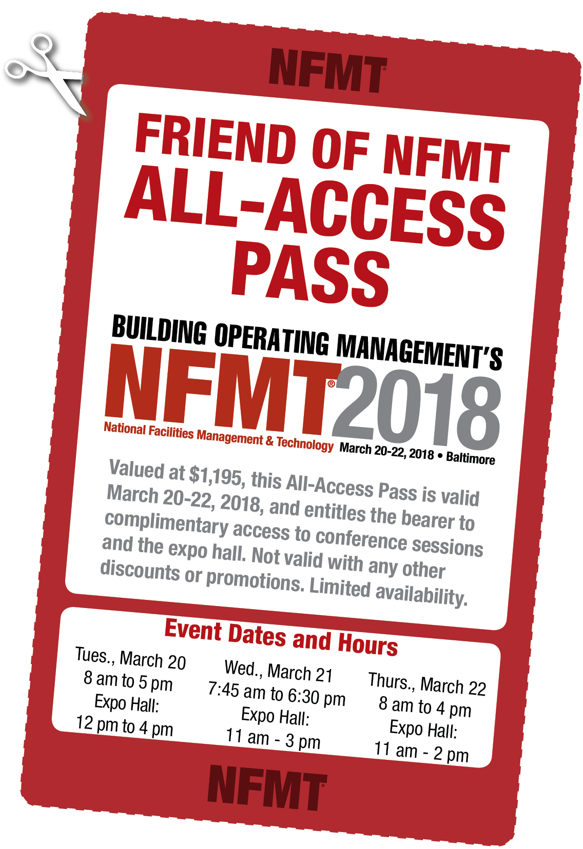 NFMT All Access Pass